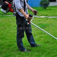 便携带小型割草机 背负式水稻收割机