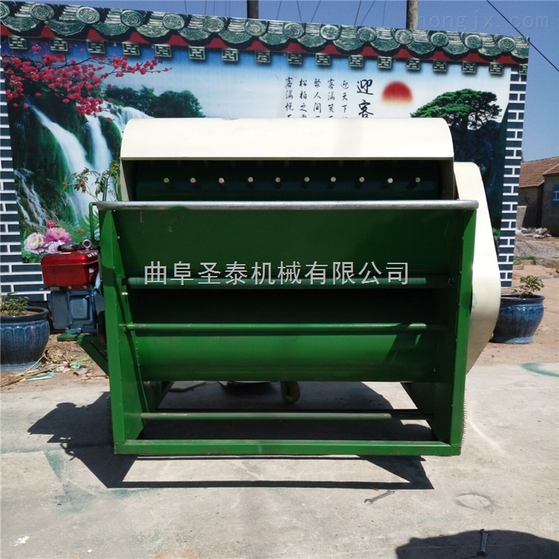 毛豆摘果机 青毛豆采摘机效率高
