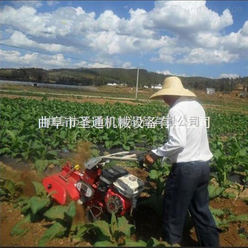 襄阳稻田中耕施肥机 小型手扶式多用开沟机