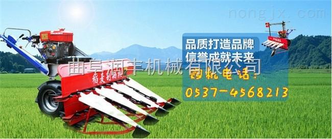 玉米秸桿割曬機 稻麥收割機廠家