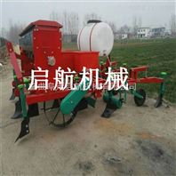 大豆播种施肥喷药起拢覆膜机 花生玉米播种覆膜机厂家直销