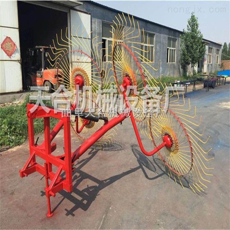 玉米秸秆搂草机 液压式拖拉机牵引搂草机厂家热卖