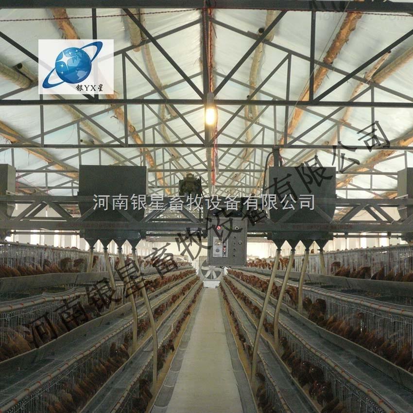河南新型层叠式蛋鸡笼批发厂家丨郑州成品肉鸡笼维修公司【银星】