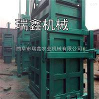 20吨纸壳半自动液压打包机 牧草棉花打包机