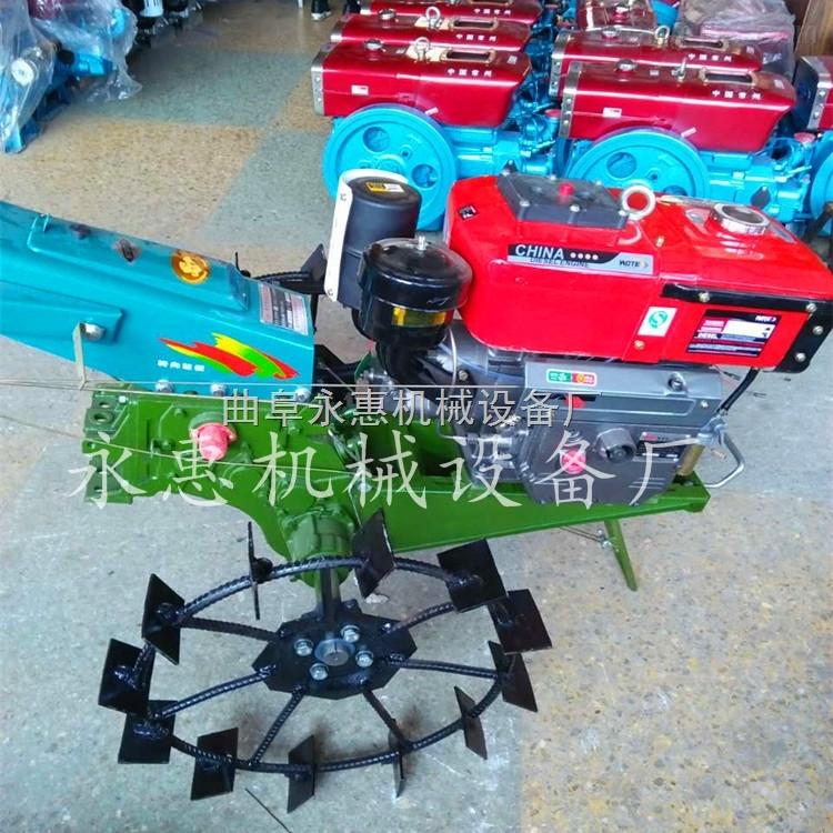 手扶拖拉机旋耕机 农用15手扶拖拉机价格 手扶式柴油旋耕机