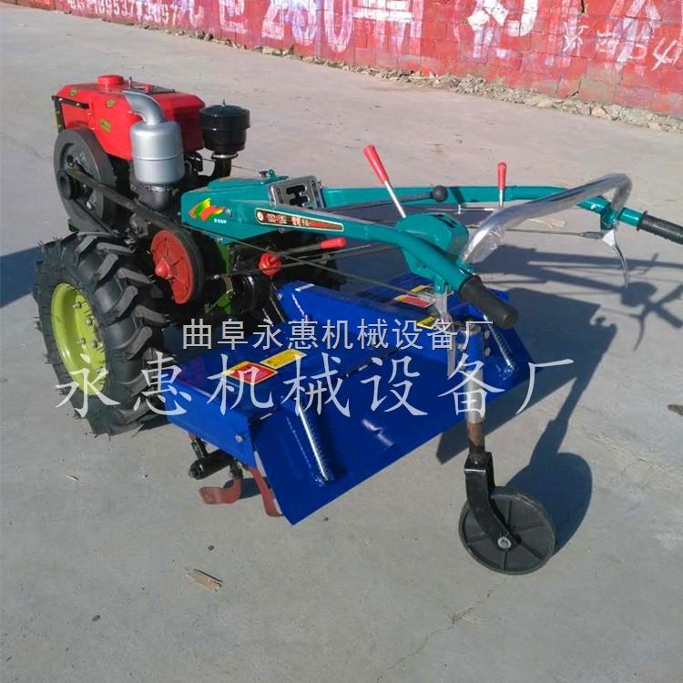 山東沭河手扶式拖拉機旋耕機,15馬力柴油耕田機價格