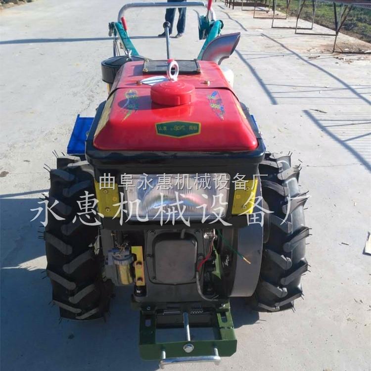 山地用12马力手扶拖拉机柴油微耕机