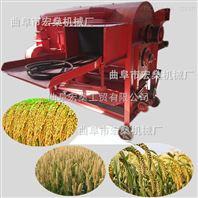 小麦高粱脱壳机 小型稻谷脱粒机