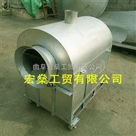 花生炒货机 电加热不锈钢滚筒式炒锅