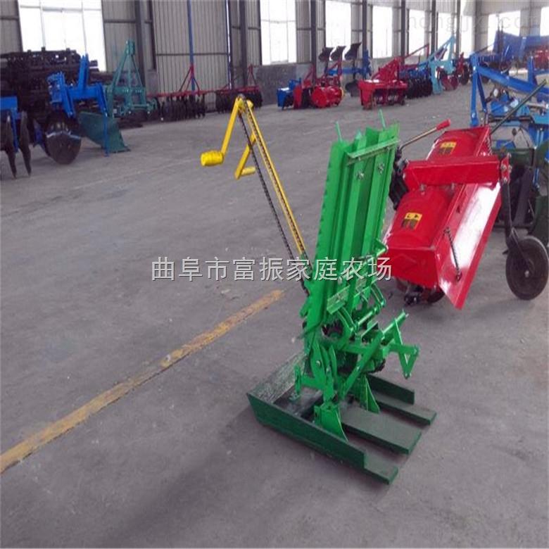 插秧机厂家 人力手动手摇两行水稻插秧机 高效省时省力