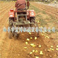 直销花生红薯收获机 销售专业收获设备 牵引式土豆薯类收获机