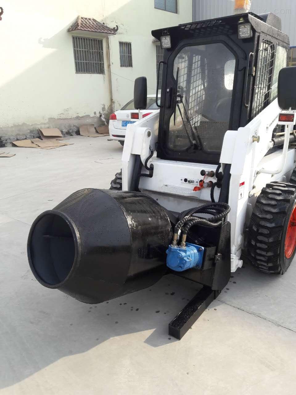 滑移装载机,水泥搅拌器