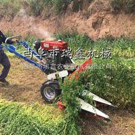 云南供应小型蚕豆收割机 蚕豆割晒机厂家
