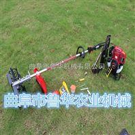 背负式田地松土除草机 便携式汽油松土机 小麦水稻收割机