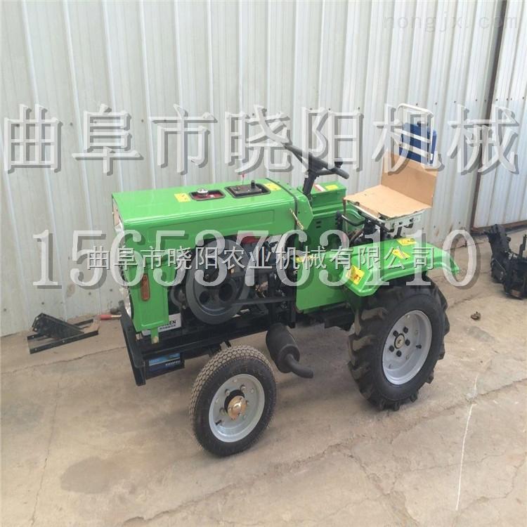 双缸农用四驱拖拉机 小型微耕农用拖拉机 四轮四驱拖拉机