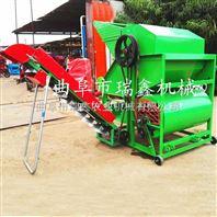 牵引式大型干湿两用花生摘果机 干湿花生摘果机 花生收获机