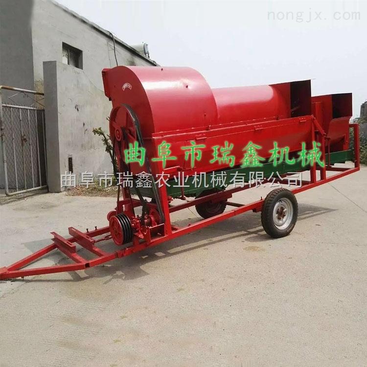 移动式花生收果去秧机 大型花生摘果机 摘花生的机器