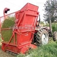 湖北襄阳青贮玉米饲料回收机秸秆 自带料仓玉米秸秆回收机图片
