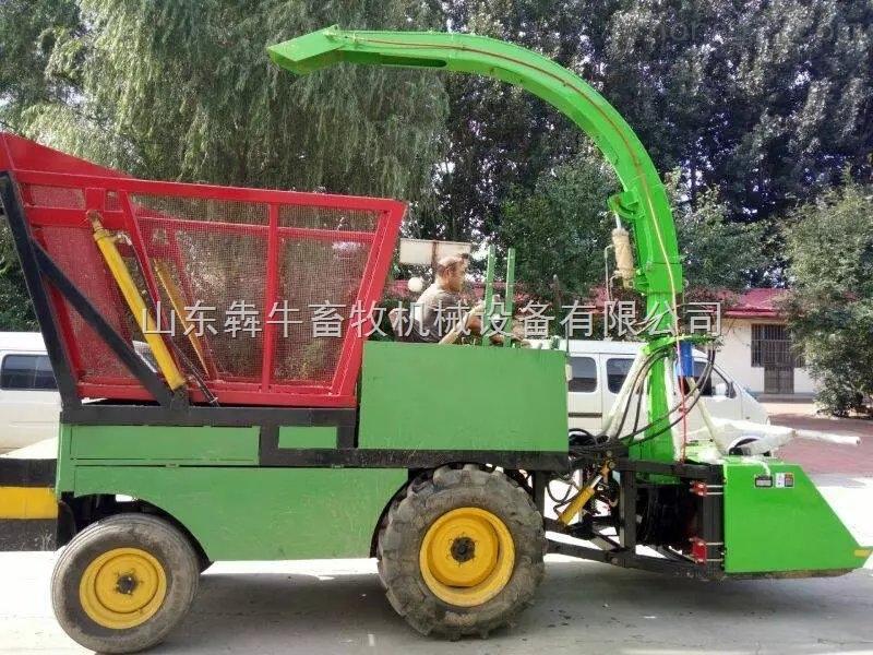 【小型自走式青贮机】-青贮玉米青贮机-山东青贮机厂家