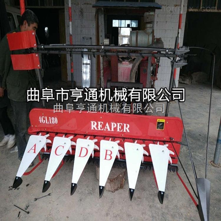 水稻小型收割机 畜牧养殖用青储割晒机价格