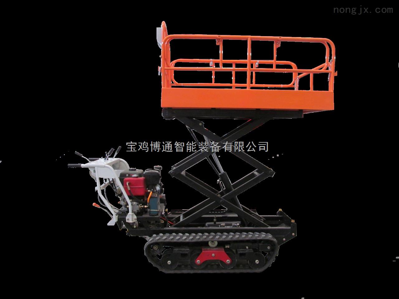 博通7BY-350自走式果园升降作业搬运车