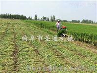 轻便灵活牧草收割机 黑麦草甜叶菊放片割晒机