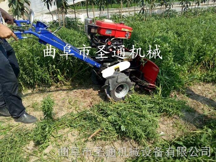 新款家用收割机 玉米秸秆青储收获机