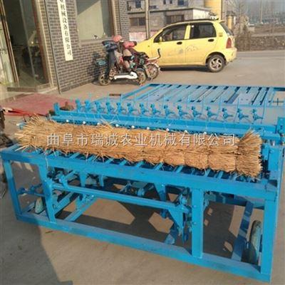 草帘机全自动 自动切边芦苇小麦草帘编织机