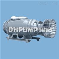 卧式安装大型河道提水泵/潜水轴流泵