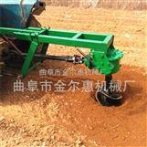 拖拉机后置挖坑机树坑机 挖坑打洞机 拖拉机后悬挂挖坑植树机