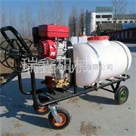 自走式小麦打药机轮打药机 四冲程汽油打药机 园林果园动力喷雾器