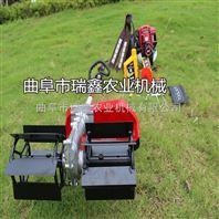 农用小型除草机 蔬菜地锄地机 小型割草机操作视频