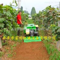 兰州小坦克式旋耕机 富兴履带式果树开沟施肥机 回填旋耕除草机价格