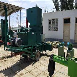 ZYD-100液压秸秆打包机 大型玉米秸秆压块机