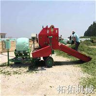 牛羊飼料秸稈青草包膜機 玉米秸稈打包機