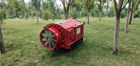 半自動自走式風送噴霧機