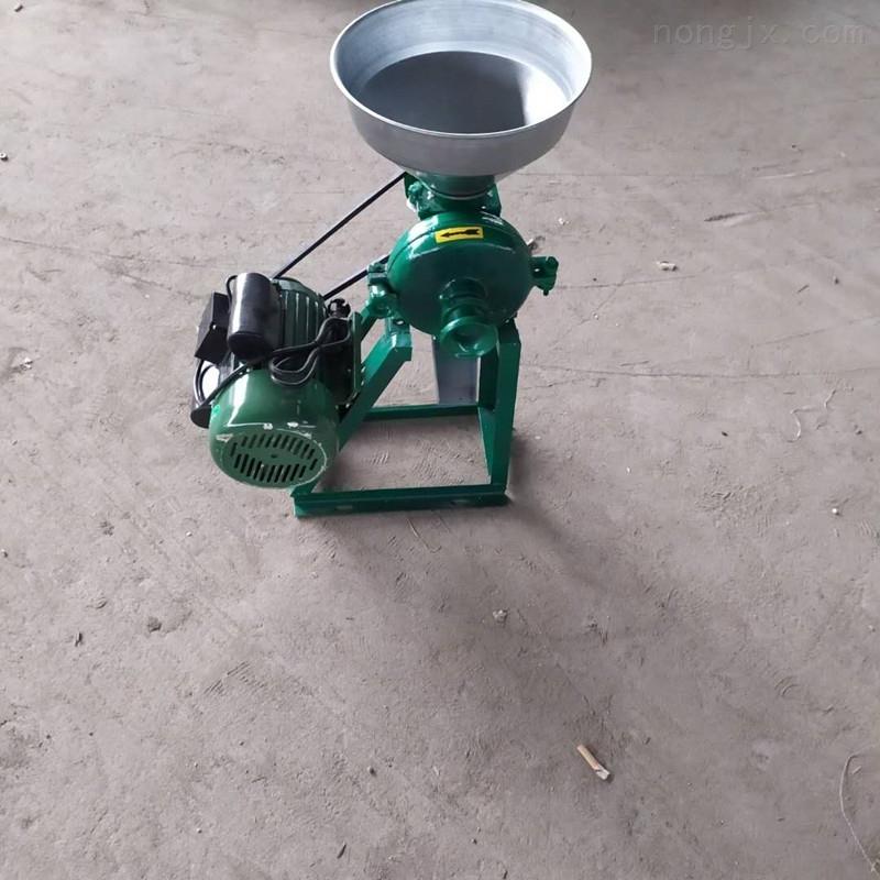 高效原粮磨面机 磨粉磨糊机浆渣分离机