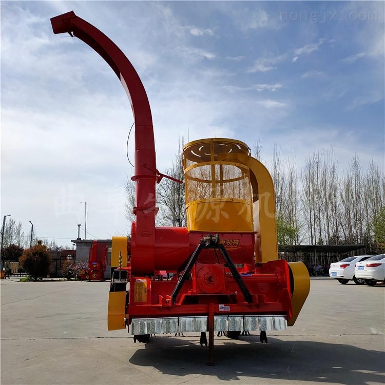 黑龙江齐齐哈尔二次粉碎四次除尘秸秆回收机