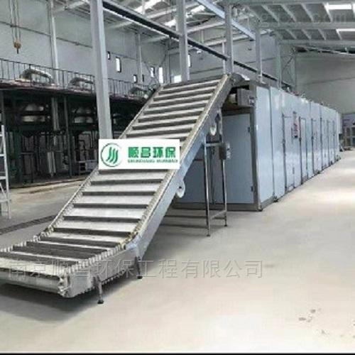 SCWB-茶叶杀青新型设备-连续低温微波干燥机