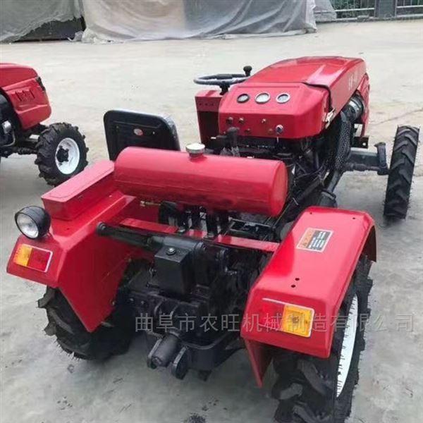 35马力单缸四驱拖拉机 水旱两用四轮耕地机