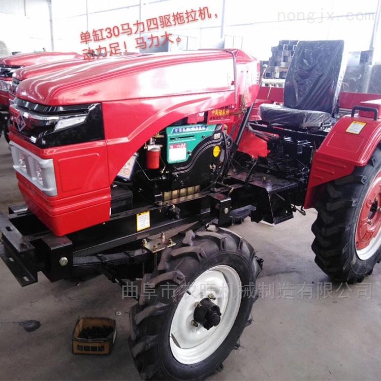 厂家直销单杠农用拖拉机 35马力四轮耕地机