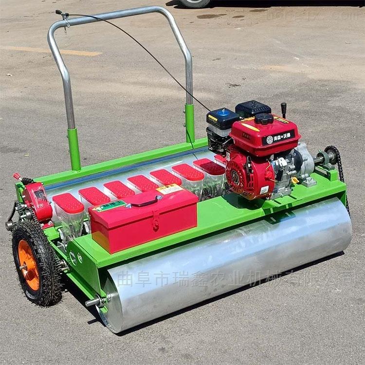 汽油动力菜种子播种机