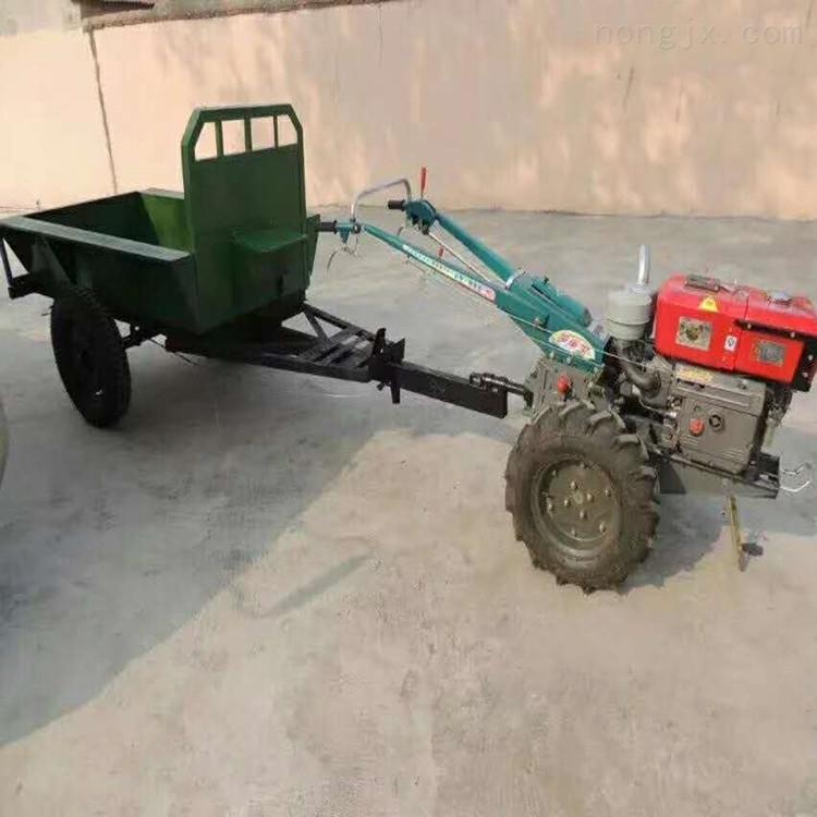 柴油机十五马力手扶拖拉机犁地机