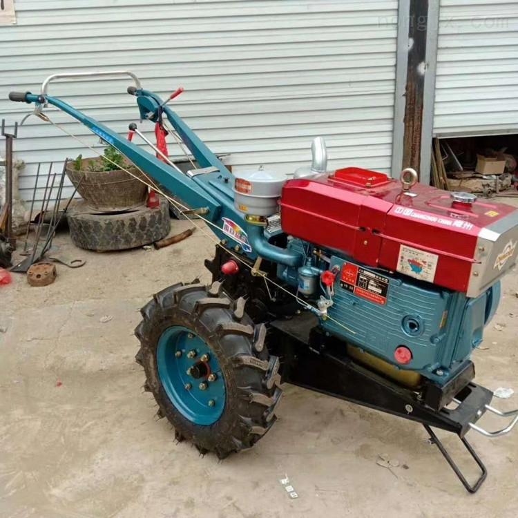 电打火18马力手扶拖拉机耕地机
