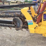 拓陆机械 链条开沟机 用于泥土地开沟可定制