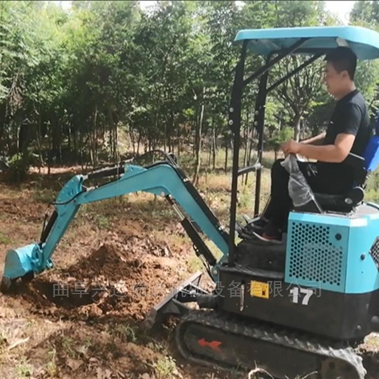 挖土平土开沟一体小挖机_挖掘机价格ljy7