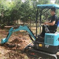 平土开沟一体挖机