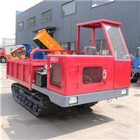 履带运输车 8吨履带式搬运车山地履带翻斗车
