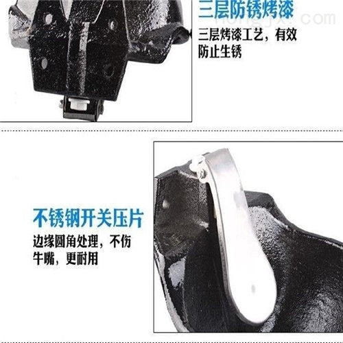 牛场专用铸铁饮水碗 饮水器厂家批发